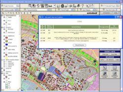 Gestione Catasto e PRG - Applicazione di gestione del Catasto e delle aree del Piano Regolatore