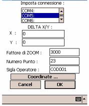 Configurazione del sistema ....