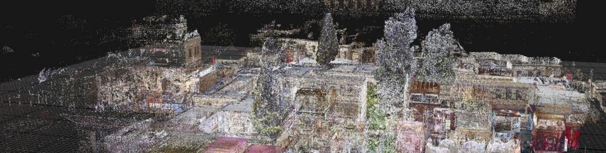 Rilievi  laser con scanner di ultima generazione LIDAR - ConsulCAD San Sisto (PG) - Umbria -