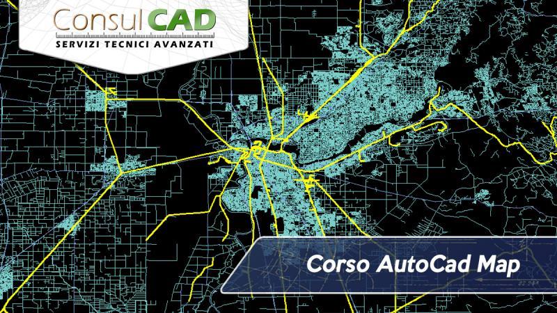 Corso AutoCad Map - Consulcad - Peugia, Umbria
