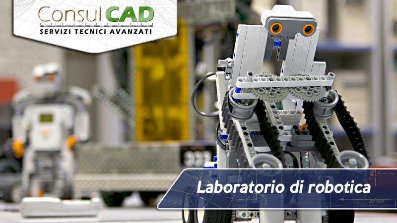 Laboratorio di robotica per scuole - Consulcad - Peugia, Umbria