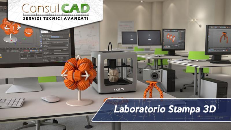 Laboratorio stampa 3D per scuole - Consulcad - Peugia, Umbria