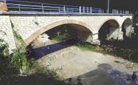 Rilievo Laser con drone - Ponte Ferroviario sul Fiume Chiascio - Comune di Marsciano (PG)