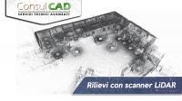 Rilievi  laser con scanner LIDAR - ConsulCAD San Sisto (PG) - Umbria