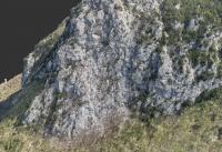 Rilievo topografico - versante in frana  strada accesso alla Diga di Nuraghe Arrubiu (CA).