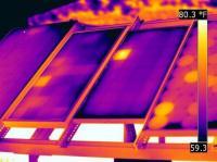 Rilievo termografico campo fotovoltaico  Comune di Recanati - Marche
