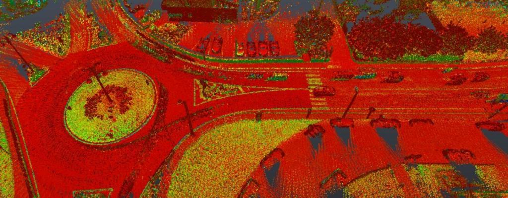 Rilievo viabilità stradale e infrastrutture esistenti mediante utilizzo di LIDAR