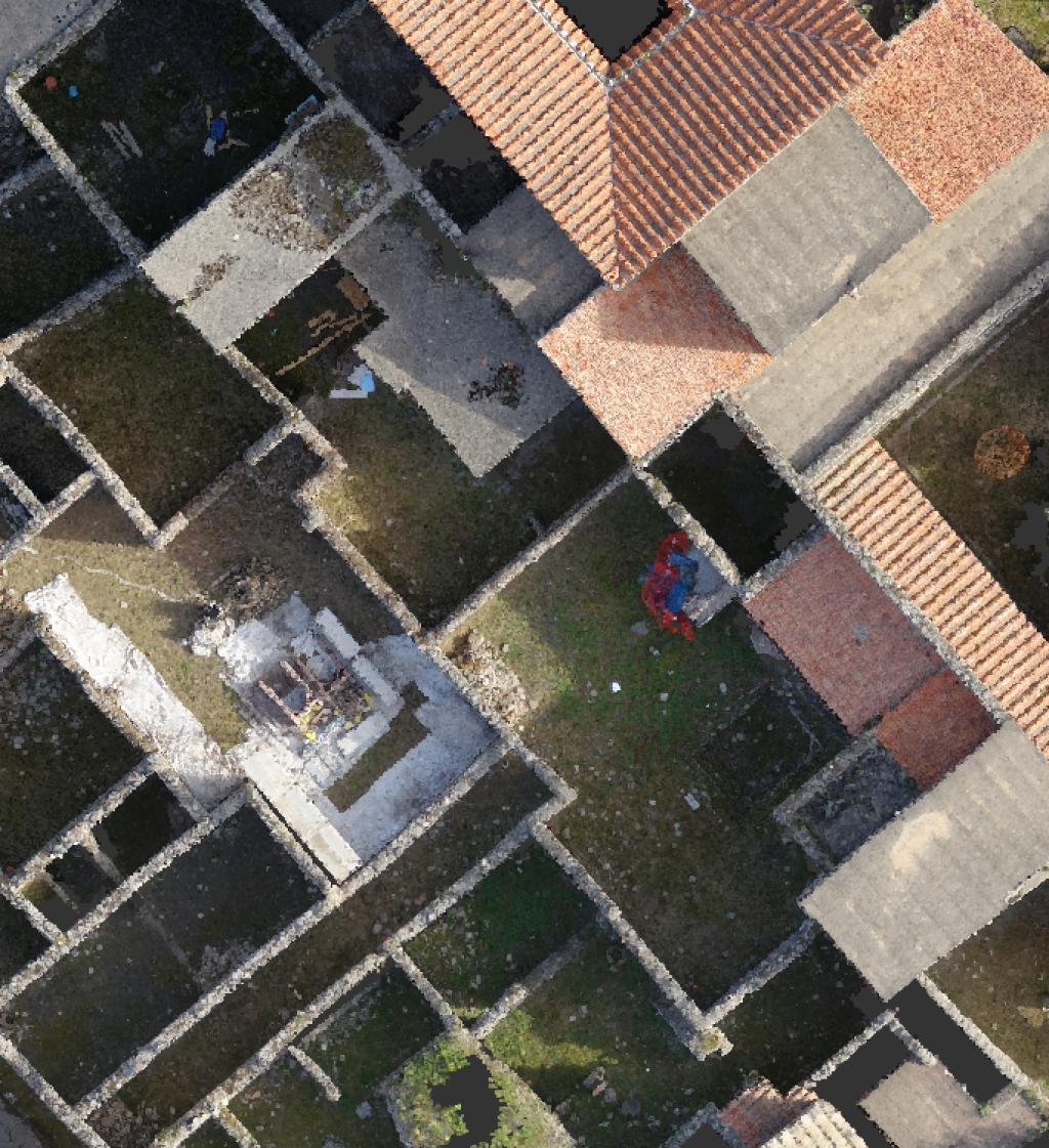Aerofotogrammetria per scavi archeologici - Pompei (NA)