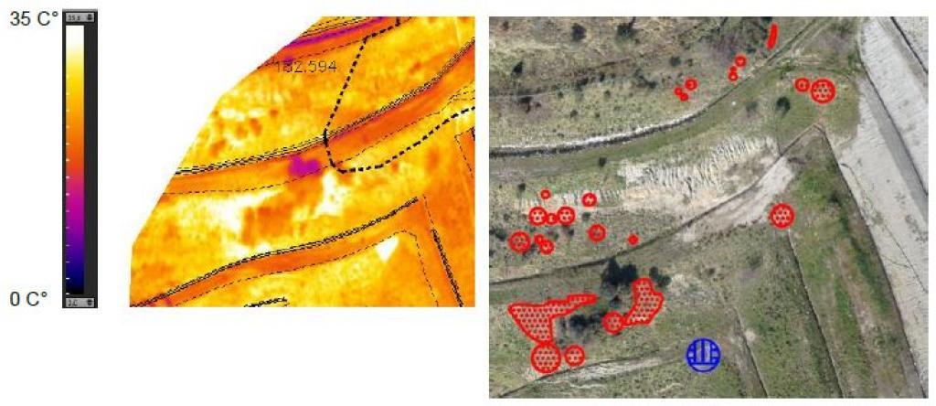 Indagine Termografica per valutazione emissione Biogas nelle Discariche