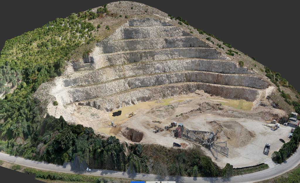 Rilievo topografico   per costruzione modello digitale del terreno e calcolo volumetrie- Comune di Roccasecca dei Volsci (LT)