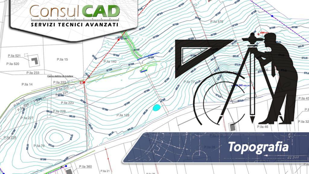 Servizi topografici - Consulcad  San Sisto (PG) - Umbria